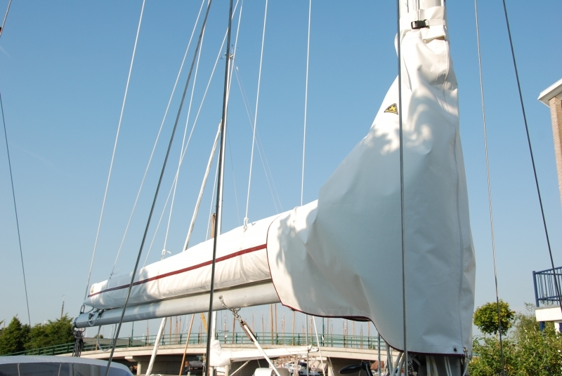 Hanse Sails maindrop in de kleur wit